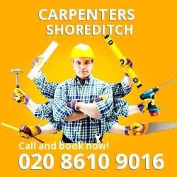 E2 carpentry agencies Shoreditch