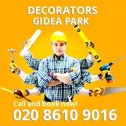 Gidea Park painting decorating services RM2