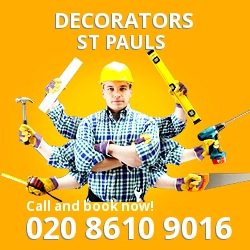 St Paul's painting decorating services EC4