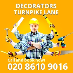 Turnpike Lane painting decorating services N8