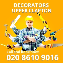 Upper Clapton painting decorating services E5