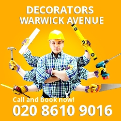 Warwick Avenue painting decorating services W9
