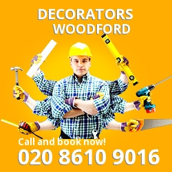 Woodford painting decorating services E18