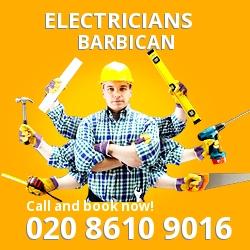 EC2 electrician Barbican