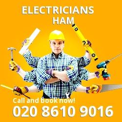 TW10 electrician Ham