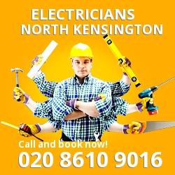 W10 electrician North Kensington