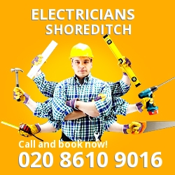 EC2 electrician Shoreditch
