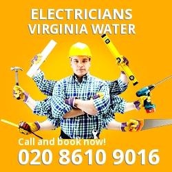 GU25 electrician Virginia Water
