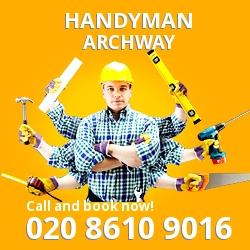 Archway handyman N19