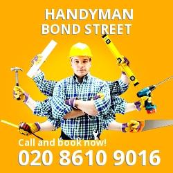 Bond Street handyman W1