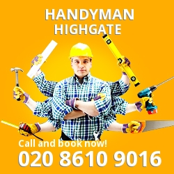 Highgate handyman N6