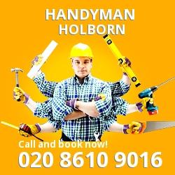 Holborn handyman WC2