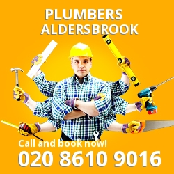 E12 plumbing services Aldersbrook