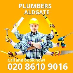 EC3 plumbing services Aldgate