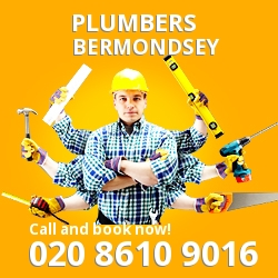 SE16 plumbing services Bermondsey