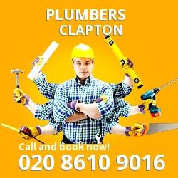 E5 plumbing services Clapton