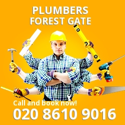 E7 plumbing services Forest Gate