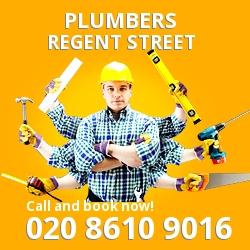 W1 plumbing services Regent Street